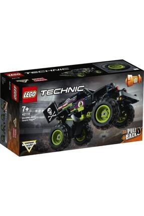 LEGO Technic 42118 Monster Jam Grave Digger 212 Parça 7 Yaş 0