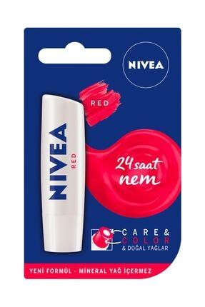 Nivea Care&colour Nude Dudak Balmı Kırmızı 4,8 gr 0