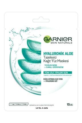 Garnier Garnıer Kağıt Maske Hyaluronik Aloe Tazeleyici Tüm Cilt Tipleri Için 1