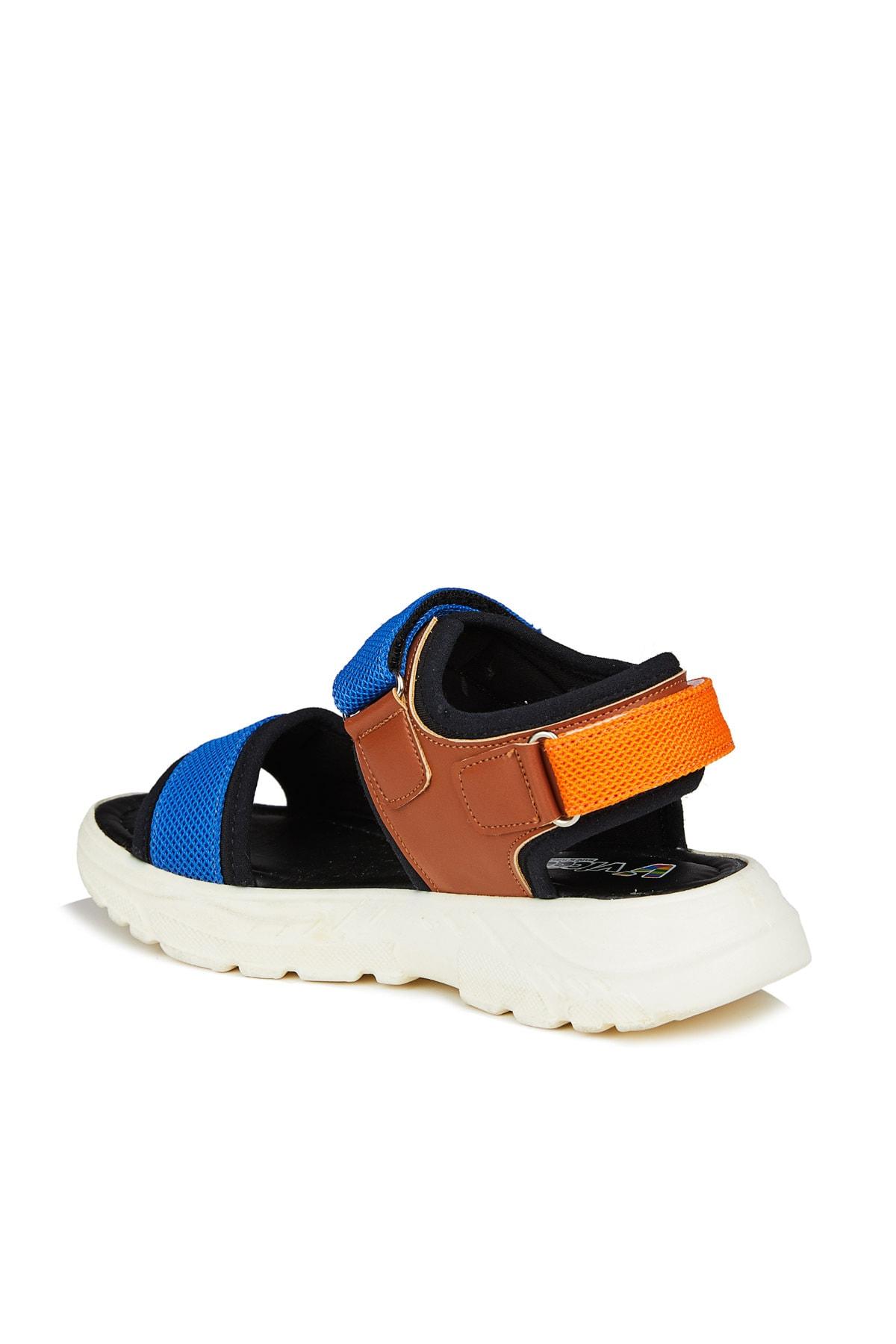 Vicco Nanga Unisex Genç Siyah Sandalet