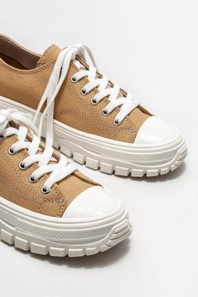 Elle Kadın Camel Sneaker 2