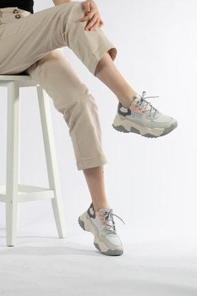 Tripy Kadın Dolgu Taban Günlük Sneaker Ayakkabı 3