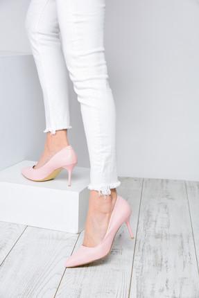 Shoes Time Pudra Kadın Topuklu Ayakkabı 18Y 11905 2