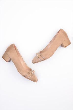 Vizon Kadın Topuklu Ayakkabı G0408471172