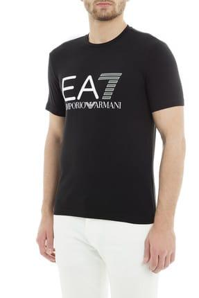 EA7 Erkek Siyah  T-Shirt 2