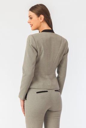 Naramaxx Kadın Siyah-Beyaz Ceket 16Y11111Y231 2