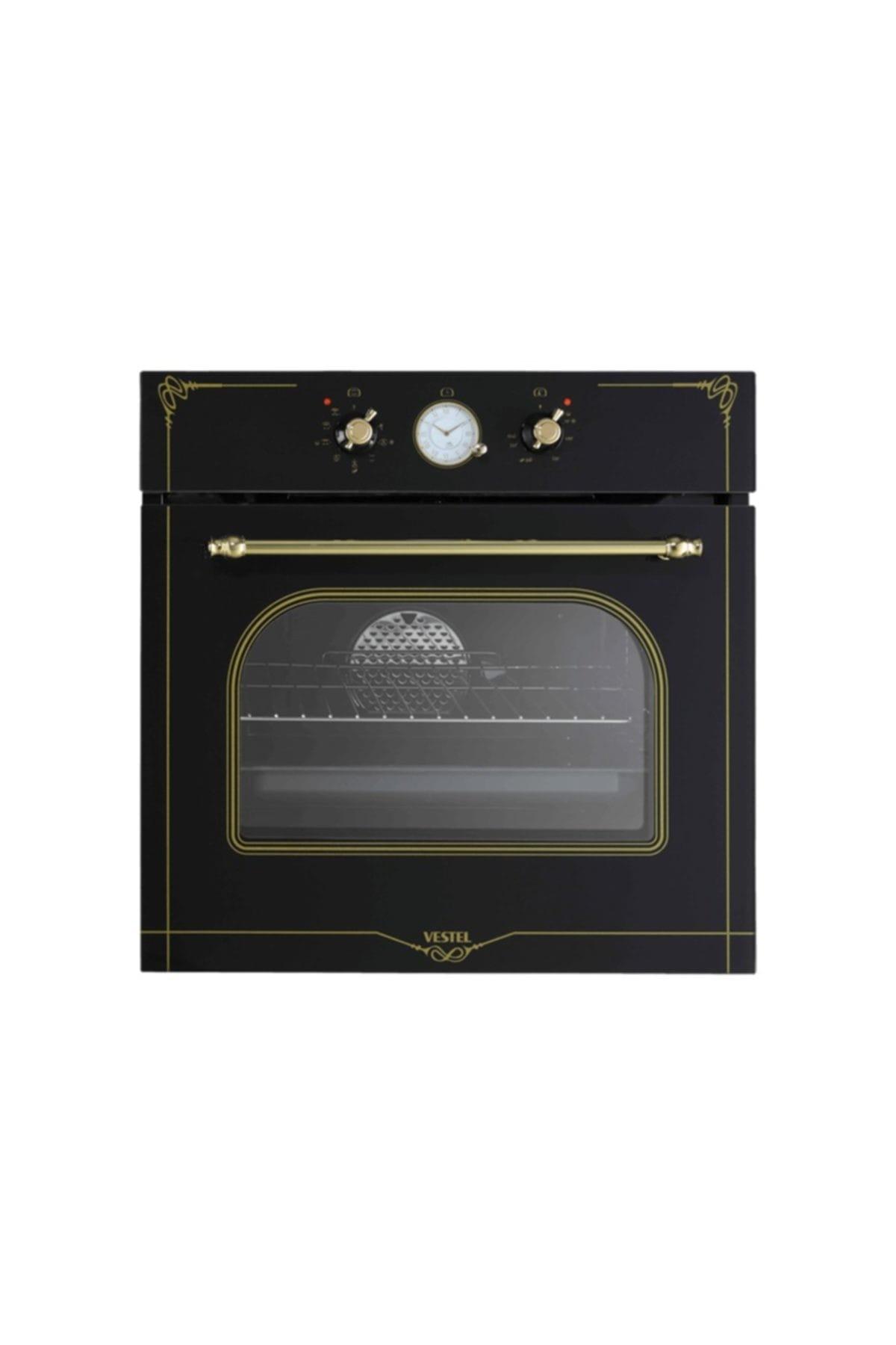 AFRB-7688 Rustik Siyah Ankastre Fırın