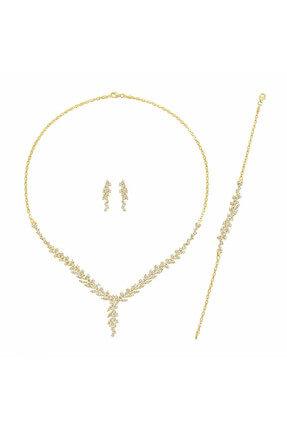 Altınbaş Kadın Altın Üçlü Set SET-TTKIMY0679-25331 0