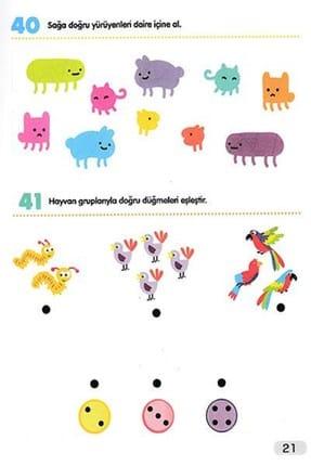 Çocuk Gezegeni 365 Zeka Geliştirici Aktivite Seti 8 Kitap 1