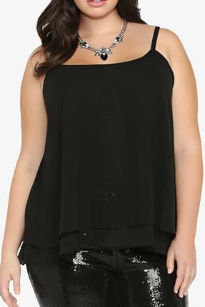 Kadın Siyah Bluz ss01502fb resmi