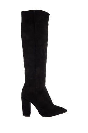 Fox Siyah Kadın Çizme E922911502 1