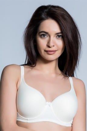 Camasircity Kadın Ekru Basic Sütyen 2