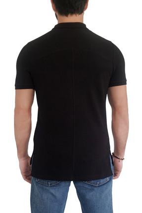 Mof Basics Erkek Siyah T-Shirt POLO-S 1