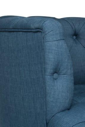 Ze10 Design West Monroe Tekli Koltuk Gece Mavisi 2