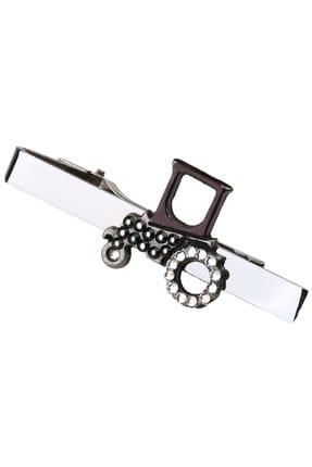 La Pescara Erkek Gümüş Renk Traktör Motif Kravat İğnesi KIY113 KRVT8690002221850 0