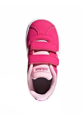 adidas Vl Court 2.0 Cmf I Fuşya Pembe Kız Çocuk Sneaker Ayakkabı 100398772 1