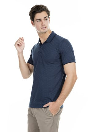 Buratti Erkek Petrol Polo Yaka T-Shirt - 43619074 0