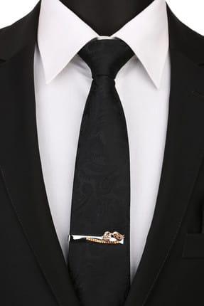La Pescara Erkek Gümüş Renk Kuş Motif Kravat İğnesi KIY117 KRVT8690002221854 1