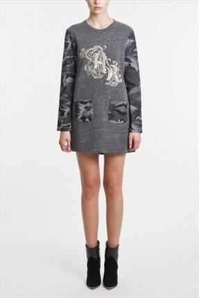 Kadın Pplad Plastron Elbise 1003435
