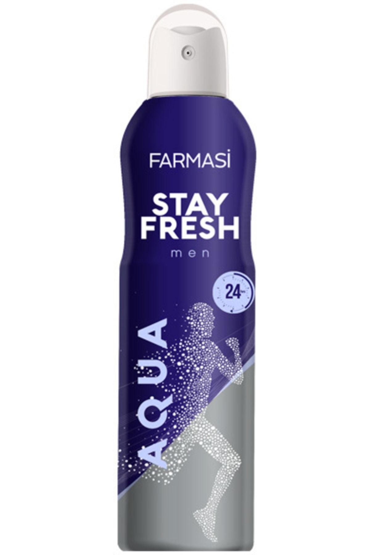 Deodorant - Stay Fresh Aqua Deodorant Erkek 150 ml 8690131109981