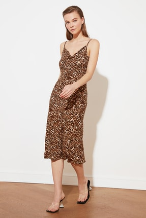 TRENDYOLMİLLA Çok Renkli Askılı Elbise TWOSS19EL0172 0