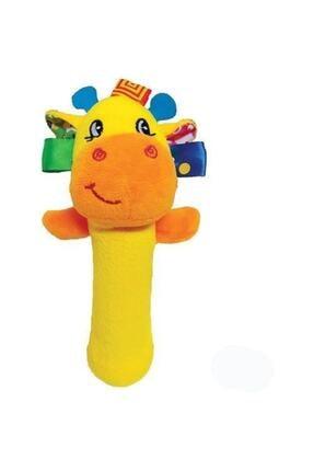 Sozzy Toys Çıngıraklı Sıksık Zürafa Szy159 0