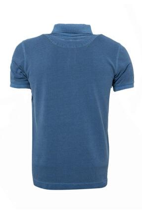 Lufian Vernon Spor Polo T- Shirt Indigo 1