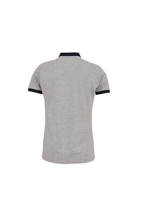 Ltb Erkek  Gri Kısa Kol Polo Yaka T-Shirt 012218400760890000 1