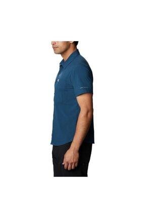 Columbia Triple Canyon Solid Short Sleeve Iı Erkek Kısa Kollu Gömlek Ao0753-348 1