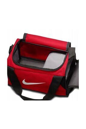 Nike Unisex Kırmızı Spor Ve Seyehat Çantası Nk Brsla Xs Duff Ba5432-657 1