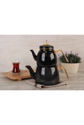 ACAR Qualita Roma Çaydanlık Takımı Siyah 1