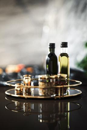 Bino Servis Sunum Ikramlık Gold Büyük Lüks Organizer Sofra Mutfak Düzenleyici Pasta Standı 1
