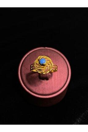 14 Ayar Altın Kadın Yüzüğü 000180