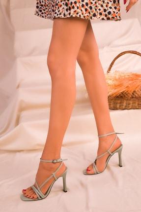 Soho Exclusive Yeşil Kadın Klasik Topuklu Ayakkabı 15859 1