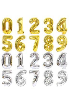 Çetinkaya Süs Folyo Helium Balloon Gold 2 Rakamlı (40 Inç 100 Cm) 1