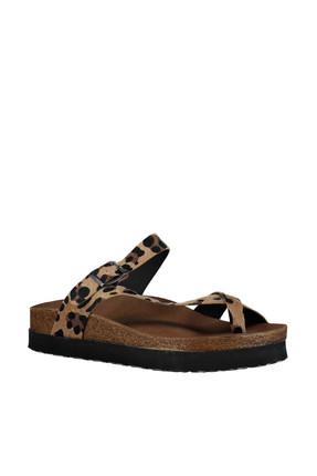 Fox Shoes Leopar Kadın Terlik B777753002 1