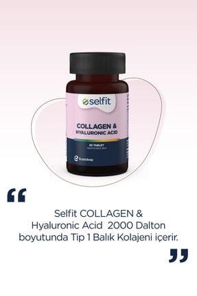 Eczacıbaşı Selfit Collagen & Hyaluronic Acid 30 Tablet -  Son Kullanma Tarihi: 02.2023 4