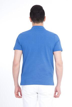 Kiğılı Erkek Mavi Polo Yaka T-Shirt - Cdee1-4 3