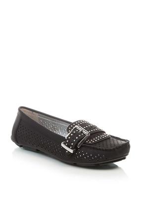 Derimod Siyah Kadın Loafer 1