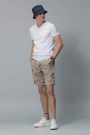 Lufian Erkek Geras Basic T- Shirt Beyaz 111020008100500 0