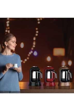 KORKMAZ A860-05 Korkmaz Kahvekolik Siyah Otomatik Kahve Makinesi 2