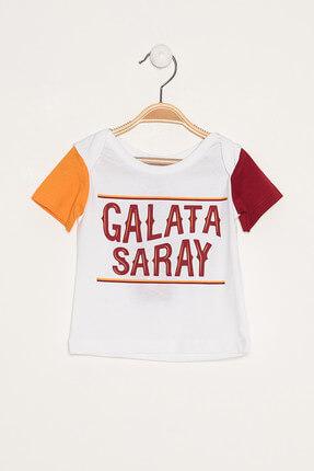 Galatasaray Bebek Beyaz T-Shirt - Y023-B80014