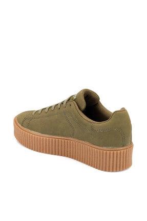 Kinetix Kino W Haki Kadın Sneaker Ayakkabı 100332572 1