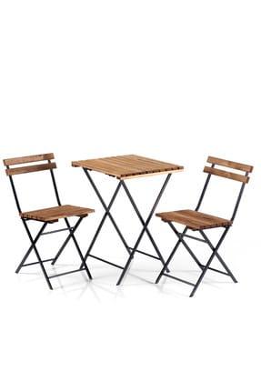 Weblonya Bistro Seti Bahçe Masa Sandalye Seti 2200 0