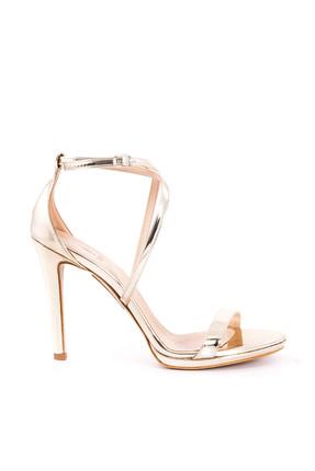 Picture of Hakiki Deri Rose Kadın Topuklu Ayakkabı 161TCK456 617