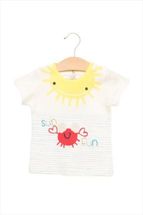 Beyaz Bebek T-Shirt 15Yentsrt630 resmi