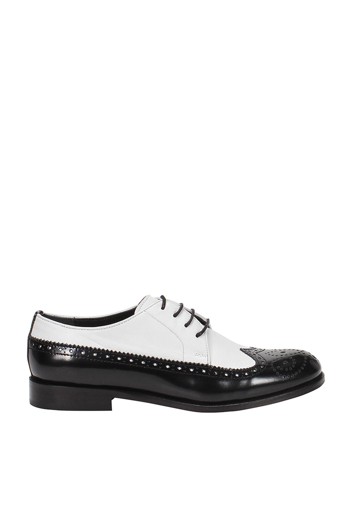Hakiki Deri Beyaz Kadın Casual Ayakkabı 120130003614