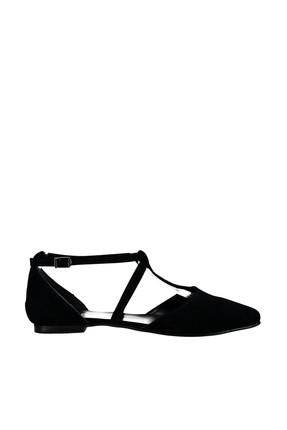 Fox Shoes Siyah Kadın Ayakkabı D726537302 1