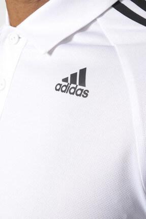 adidas Erkek Polo Yaka T-shirt - D2M 3S Polo White - BK2602 3