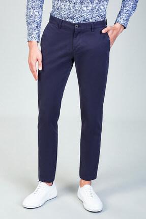 Avva Yandan Cepli Düz Slim Fit Pantolon 0